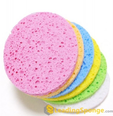 Cellulose Face Cleansing Sponge