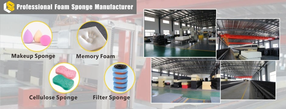 sponge foam supplier factory