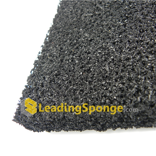 Granular activated carbon foam_open cell polyurethane ether