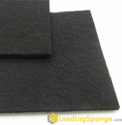 Polyester fabric carbon activatus foam